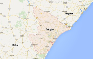 sergipe map
