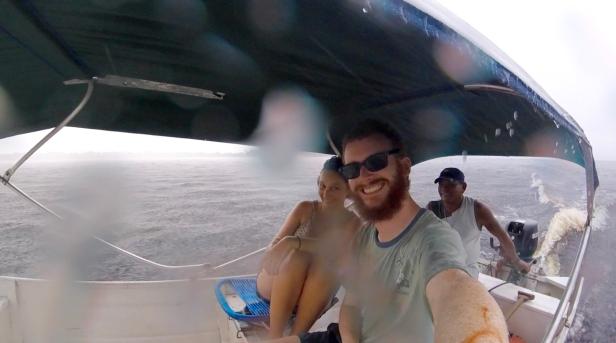boat rain