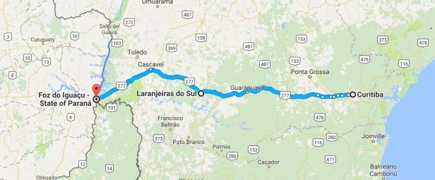 Curitiba__State_of_Paraná__Brazil_to_Foz_do_Iguaçu_-_State_of_Paraná__Brazil_-_Google_Maps